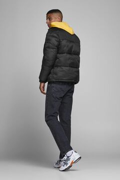 Springfield HIgh neck padded jacket noir