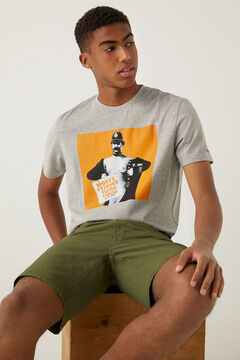 Springfield Monty Python t-shirt gray