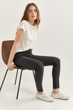 Springfield High Rise Sculpt Jeans black