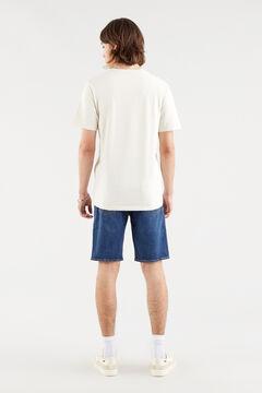 Springfield Camiseta manga corta crudo