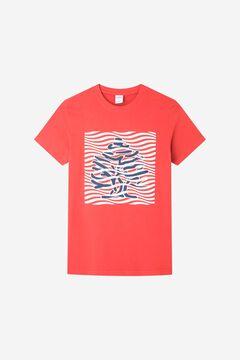 Springfield Logo T-shirt terracotta