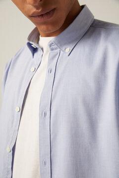 Springfield Struktur-Hemd blau