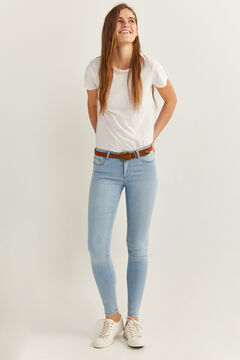 Springfield Jeans jegging lavado sostenible azul