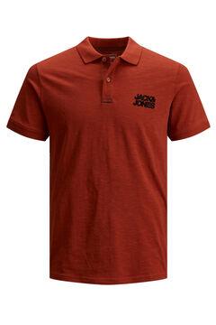Springfield Classic logo polo shirt brick
