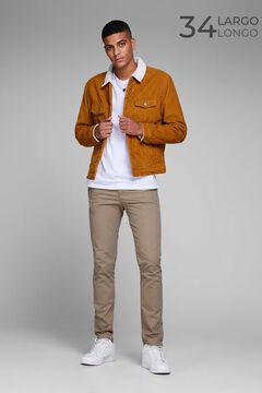 Springfield Slim fit chinos brown