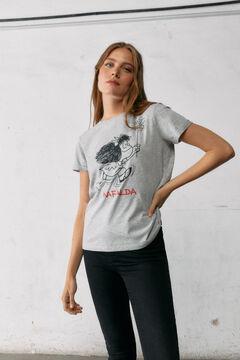 Springfield Mafalda T-shirt grey