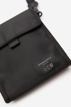 Springfield Porte-documents moyen nylon noir