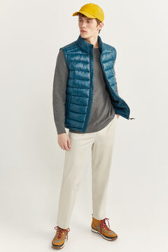 Springfield Quilted gilet with DUPONT™ Sorona® padding. green