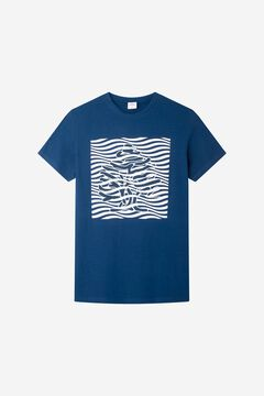 Springfield Logo T-shirt bluish