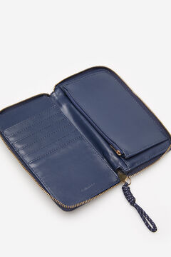 Springfield Zipped purse blue mix