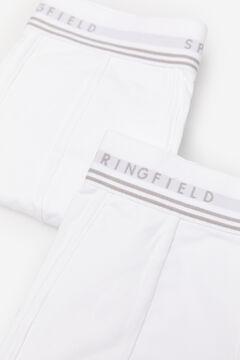 Springfield Pack 2 boxers básicos branco