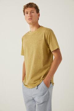 Springfield Essentials marl t-shirt yellow