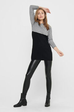 Springfield Loose raglan sleeve dress  gray