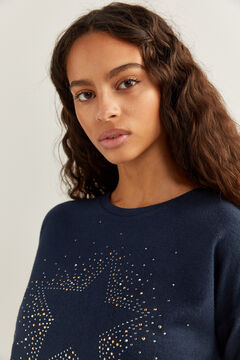 Springfield Crystal Star T-shirt blue