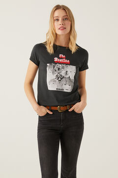 Springfield The Beatles t-shirt gray