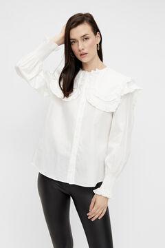 Springfield Camisa volantes white