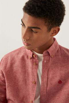Springfield Linen shirt rust