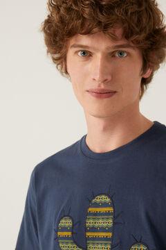 Springfield T-shirt cacto azulado