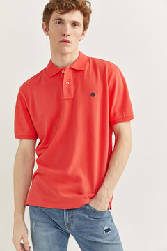 Springfield ESSENTIAL PIQUE POLO SHIRT red