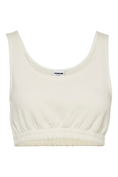 Springfield Strappy crop top white