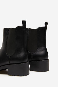 Springfield Track sole ankle boot black
