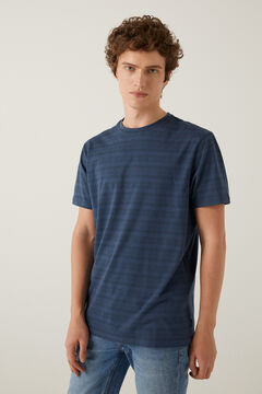 Springfield Ethnic print t-shirt navy mix