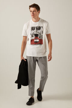 Springfield Routes T-shirt white