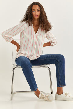 Springfield Striped Blouse lavender