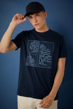 Springfield Logo T-shirt blue