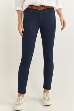 Springfield Eco Dye coloured jeans blue