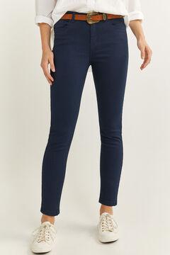 Springfield Jeans Farbe Eco Dye blau