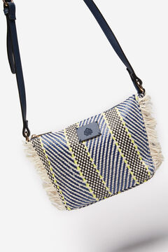 Springfield FRINGED CROSSBODY BAG navy mix