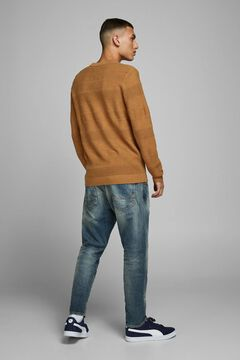 Springfield Crew neck jumper brown