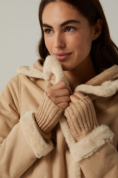 Springfield Short double-faced coat  camel