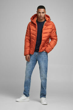 Springfield Padded jacket with hood rouge