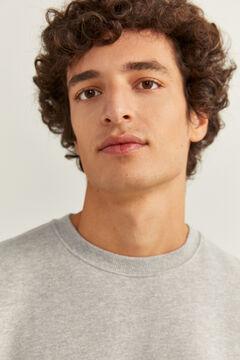 Springfield Crew neck sweatshirt gray
