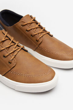 Springfield Contrast trainer brown