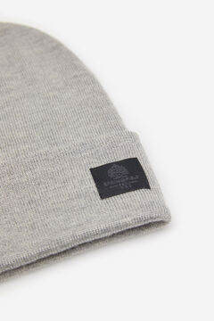 Springfield ESSENTIAL KNIT HAT gray