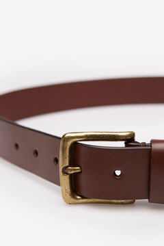Springfield Essential leather belt brown