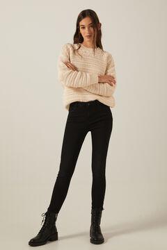 Springfield Jeans body shape lavavage durable noir