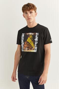 Springfield T-shirt Monty Phyton preto