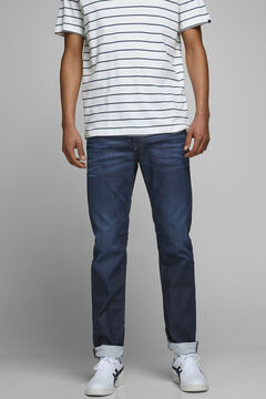 Springfield Regular fit jeans bleuté