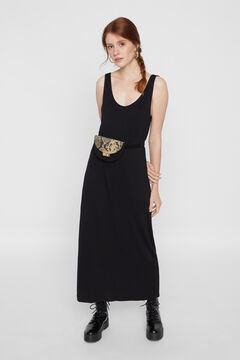 Springfield Long dress black