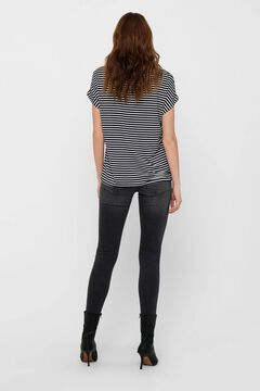 Springfield Essential striped t-shirt. bleuté