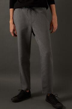 Springfield Pantalon chino comfort urban structuré gris