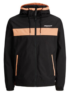 Springfield Technical hooded jacket noir