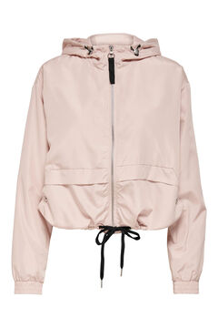 Springfield Windbreaker jacket pink