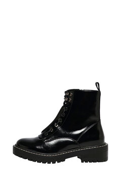 Springfield Detachable zip boot fekete