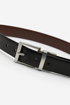 Springfield Leather dress belt black