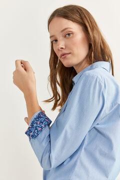 Springfield Mintás ing kék